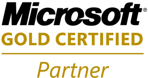 Microsoft Certified Gold Partner Logo